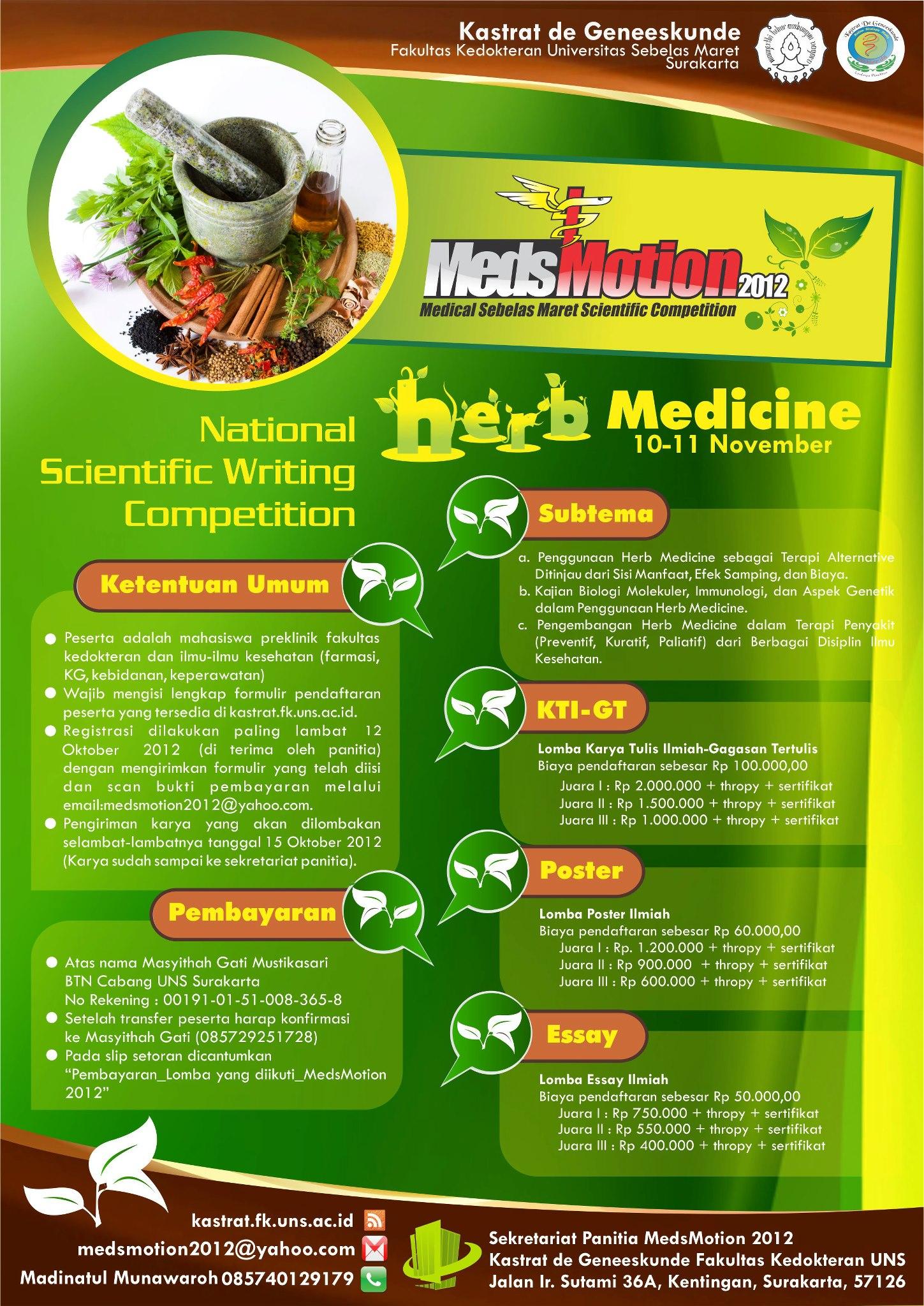 Medsmotion 2012 Kastrat De Geneeskunde Fk Uns